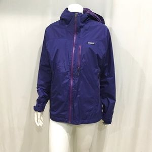Patagonia Woman's Purple Insulated Hooded Jacket